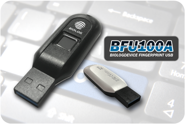 Biolog Device´s secure fingerprint USB is made possible with
